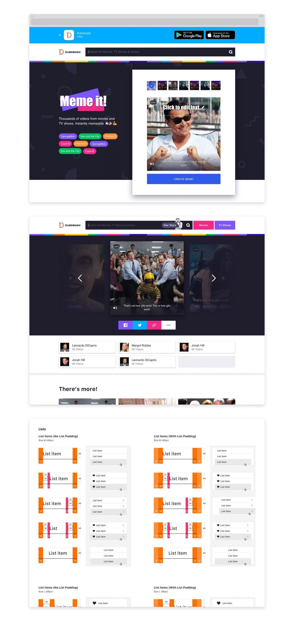 Legacy Web Concepts